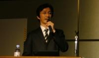 グリーンツリー社 代表 森田の講演の様子